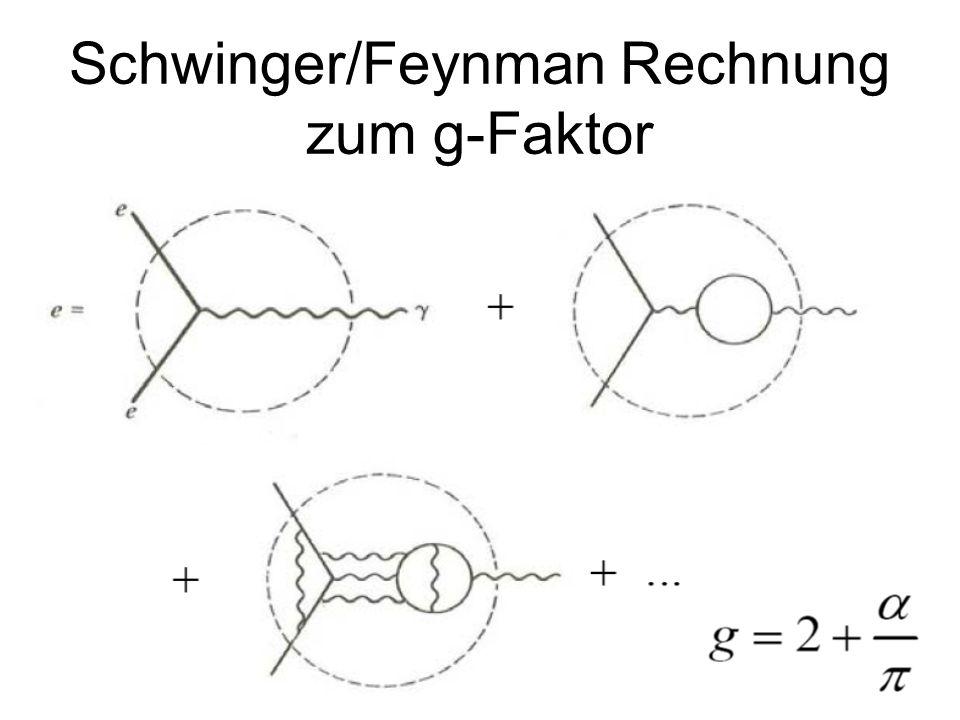 233 Schwinger/Feynman Rechnung zum g-Faktor