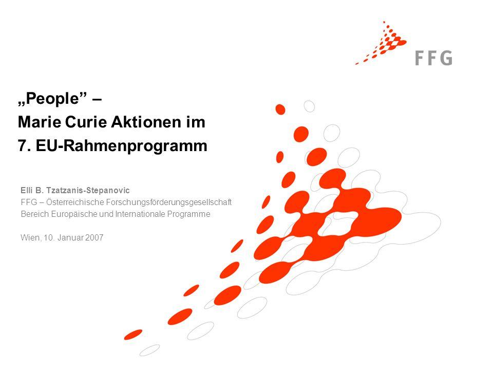 T.Lindahl / FFG-EIP Thematische Bereiche 'Cooperation' 1.