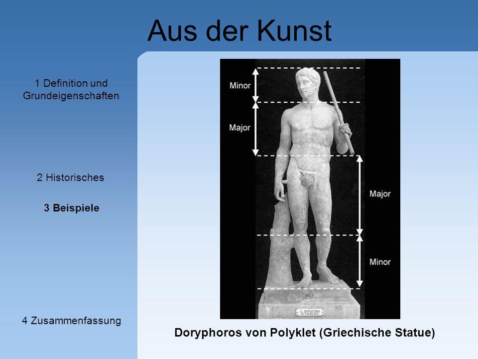 Aus der Kunst Doryphoros von Polyklet (Griechische Statue) 1 Definition und Grundeigenschaften 2 Historisches 3 Beispiele 4 Zusammenfassung