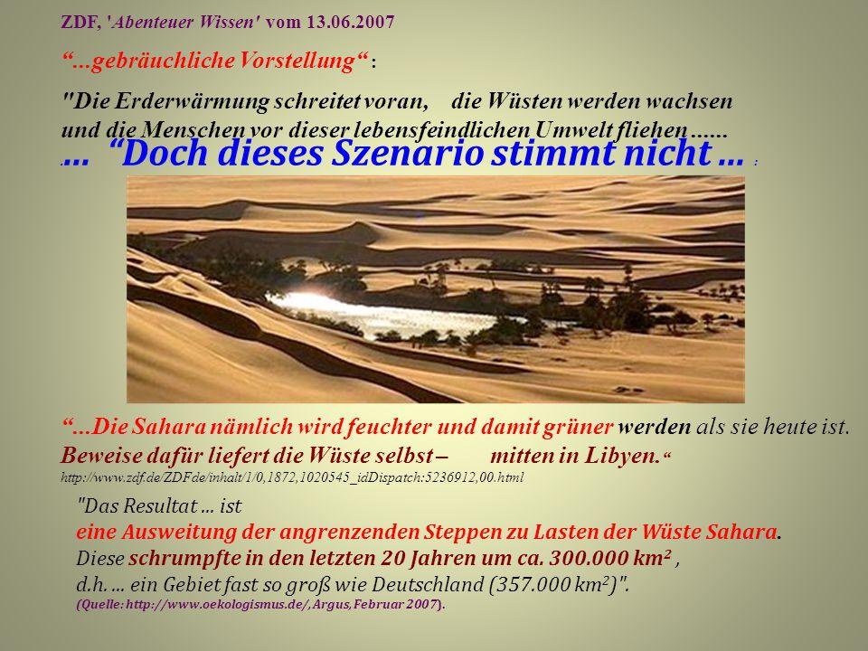 """ZDF, 'Abenteuer Wissen' vom 13.06.2007 """"...gebräuchliche Vorstellung"""" :"""