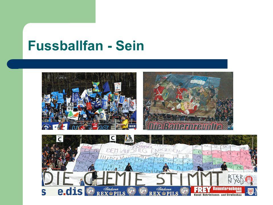 Fussballfan - Sein