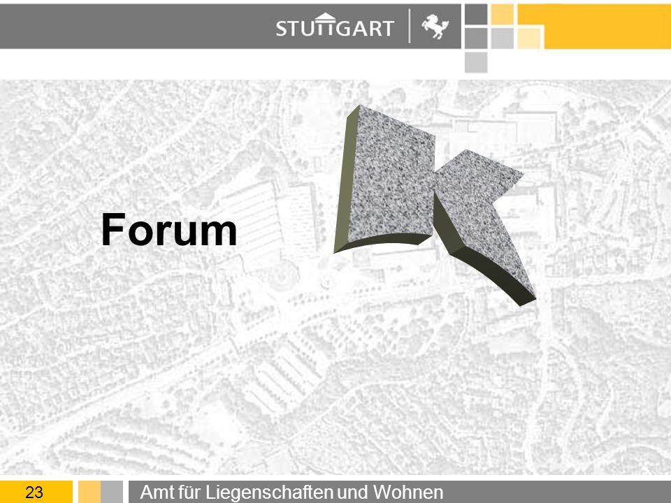 Forum 23 Amt für Liegenschaften und Wohnen