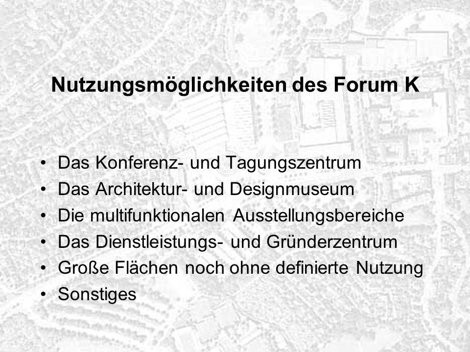 Phasenweise Ralisierung des Forum K