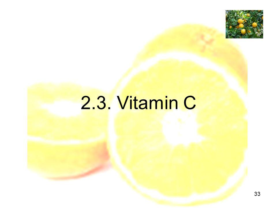 33 2.3. Vitamin C