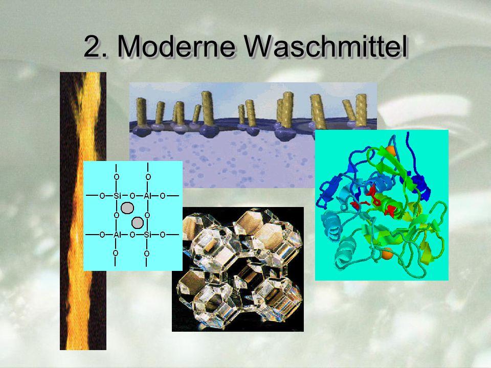 2. Moderne Waschmittel