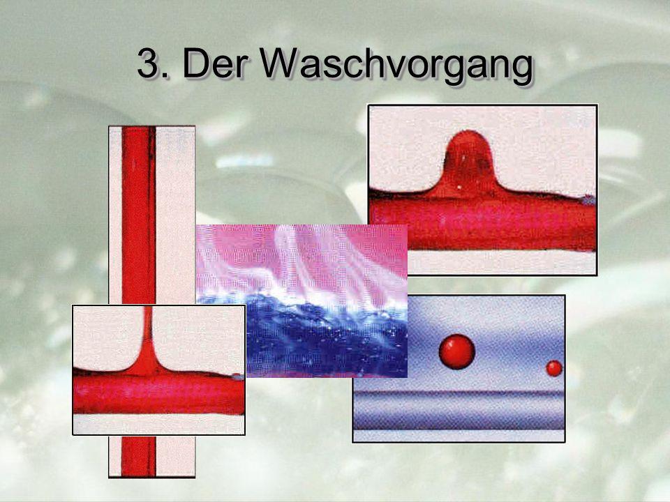 3. Der Waschvorgang