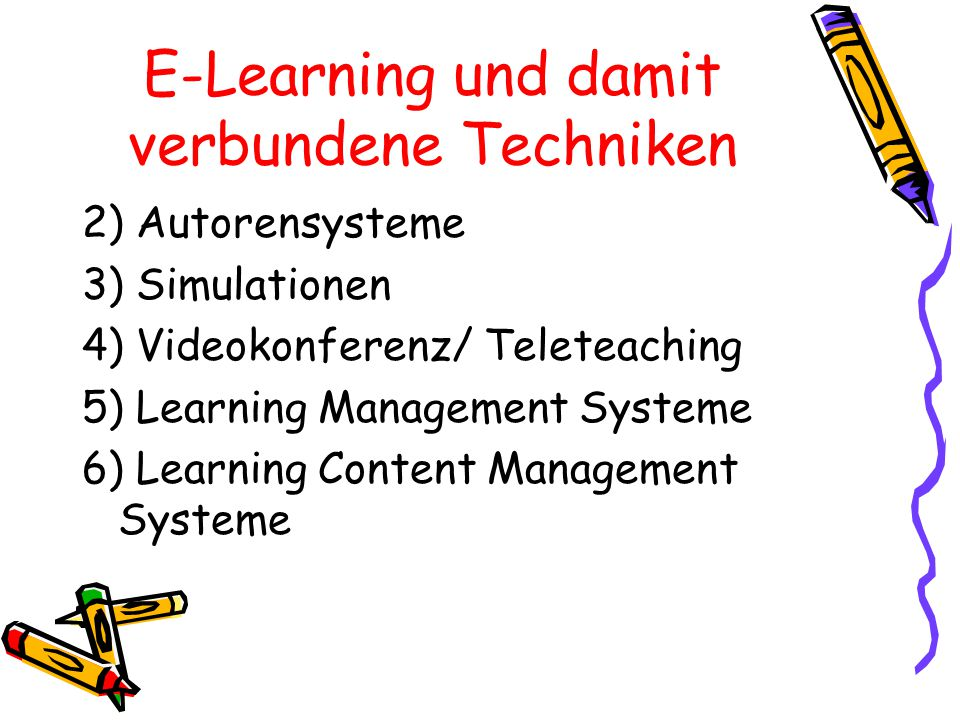 Neue Lerntechnologien Neue Lern- Technologien 1a)Asynchron Computer Based Training 1b)Synchron Liveunterstützung v.