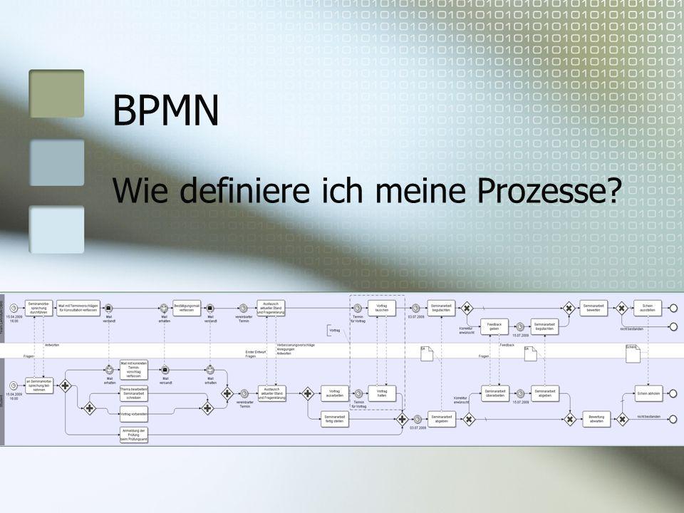 BPMN Wie definiere ich meine Prozesse?
