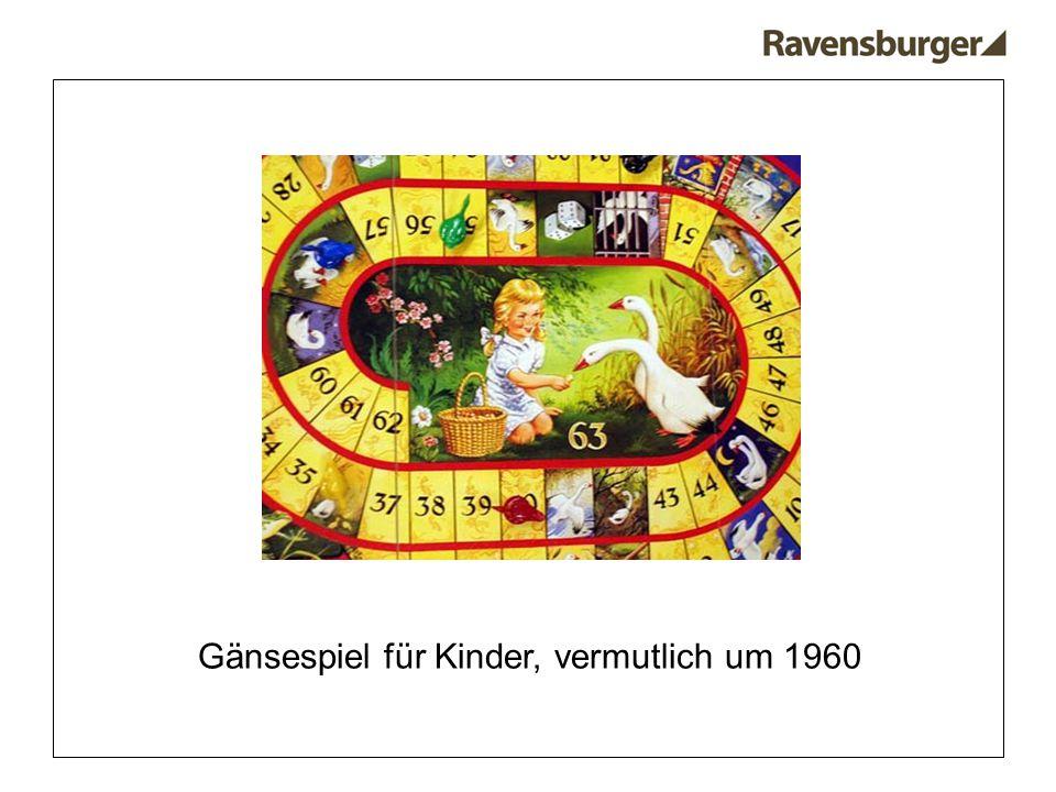 Gänsespiel für Kinder, vermutlich um 1960