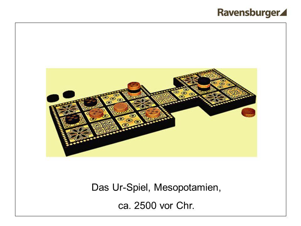 Das Ur-Spiel, Mesopotamien, ca. 2500 vor Chr.