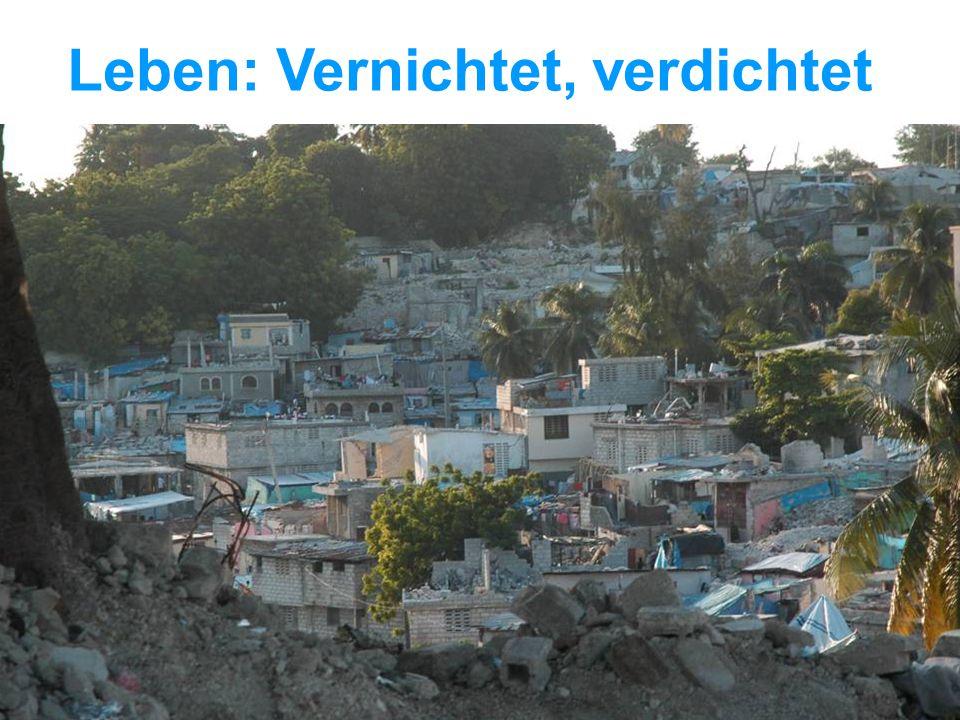 UNICEF Die UNICEF-Hilfe in Haiti Leben: Vernichtet, verdichtet