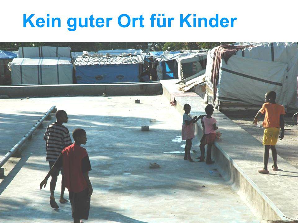 UNICEF Die UNICEF-Hilfe in Haiti Kein guter Ort für Kinder