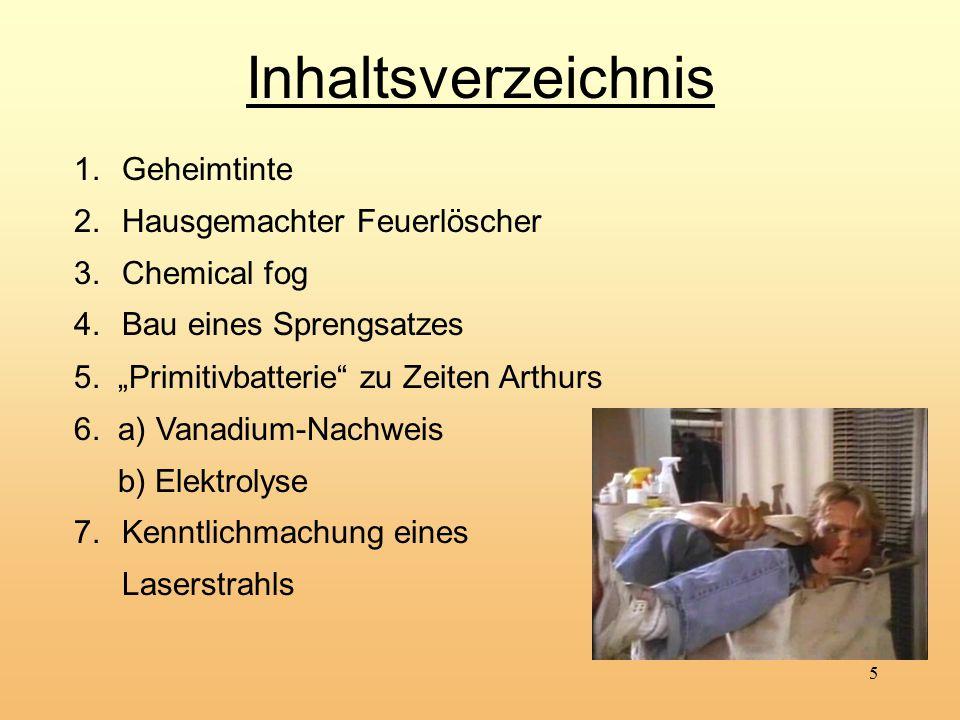 """16 5. """"Primitivbatterie zu Zeiten Arthurs Versuch 4"""
