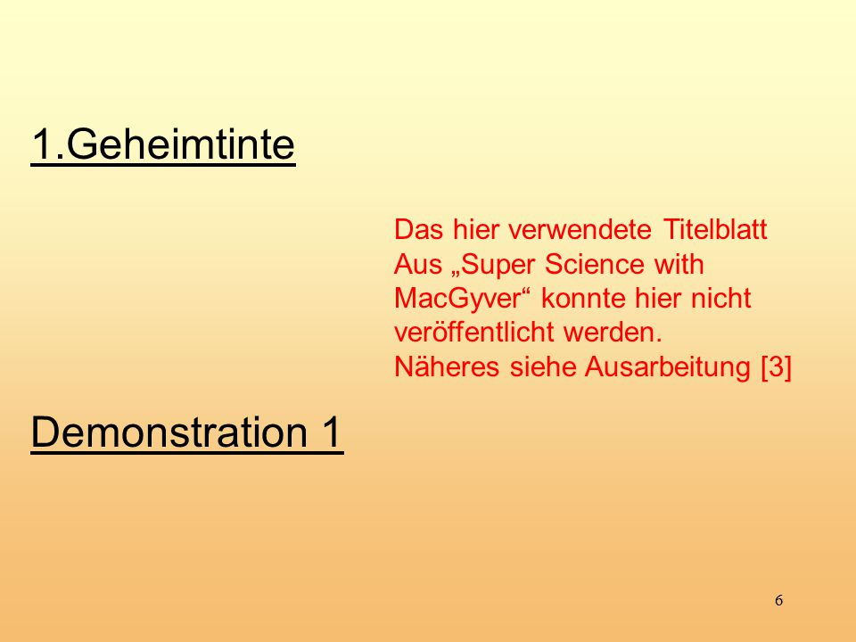 17 5.1 Das Daniell-Element (Klasse 10.1.) Halbzellreaktionen Summe beider Zellreaktionen: Reduktion: Oxidation: +II 0 0 +II Gesamtreaktion +II 0 0 +II