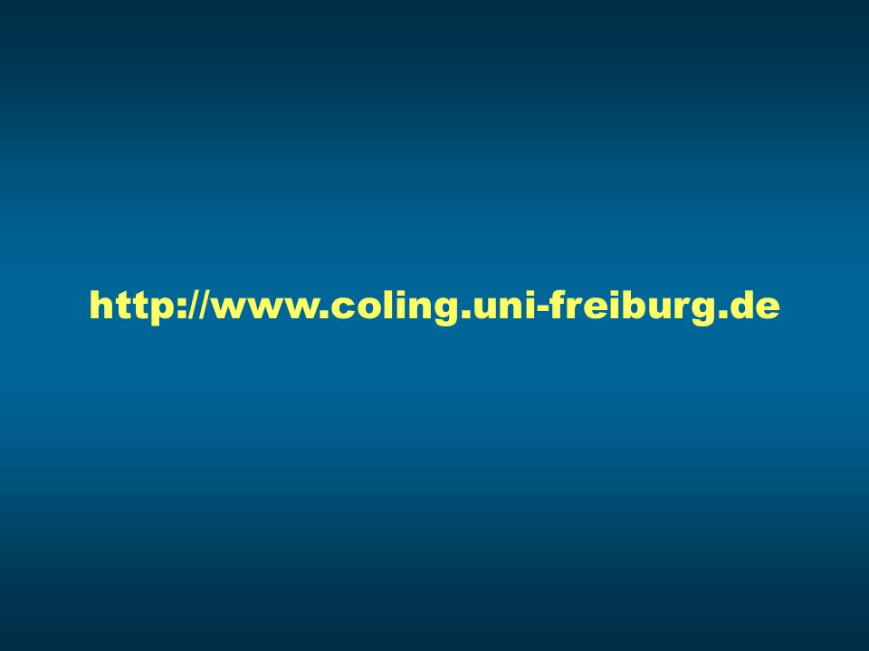 http://www.coling.uni-freiburg.de
