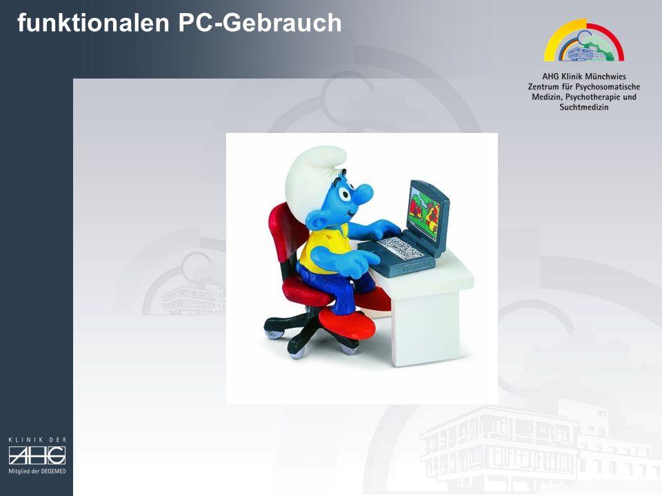 funktionalen PC-Gebrauch