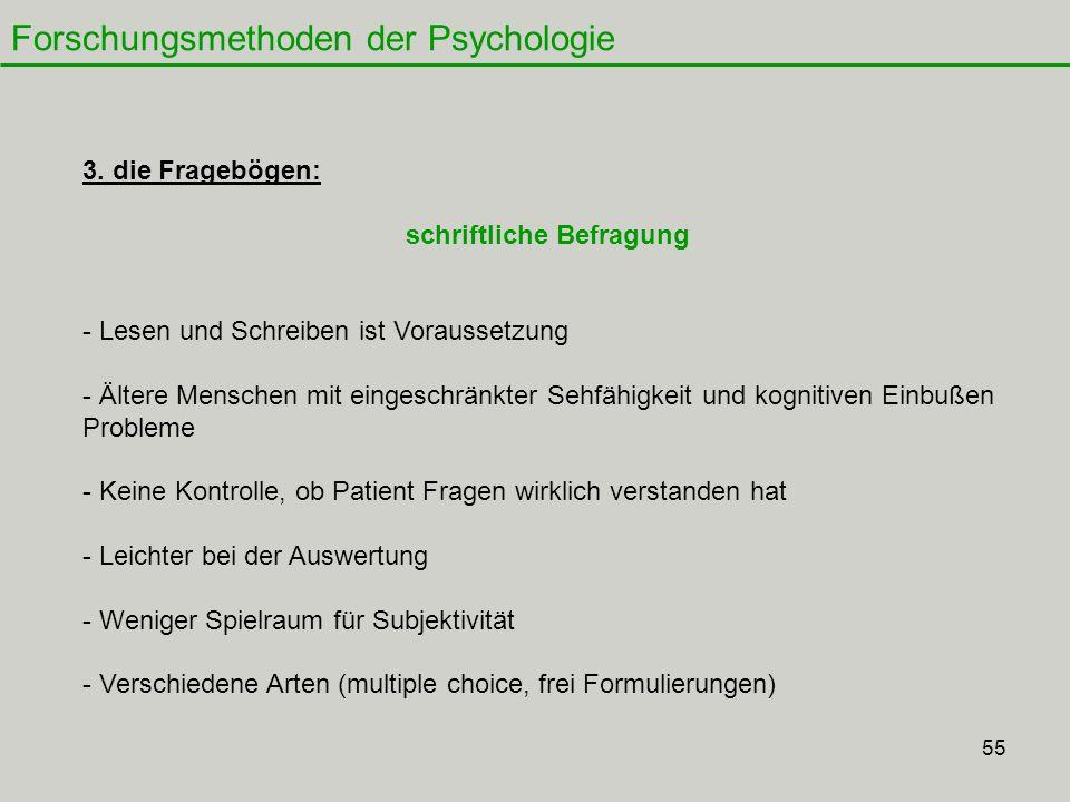 55 Forschungsmethoden der Psychologie 3.