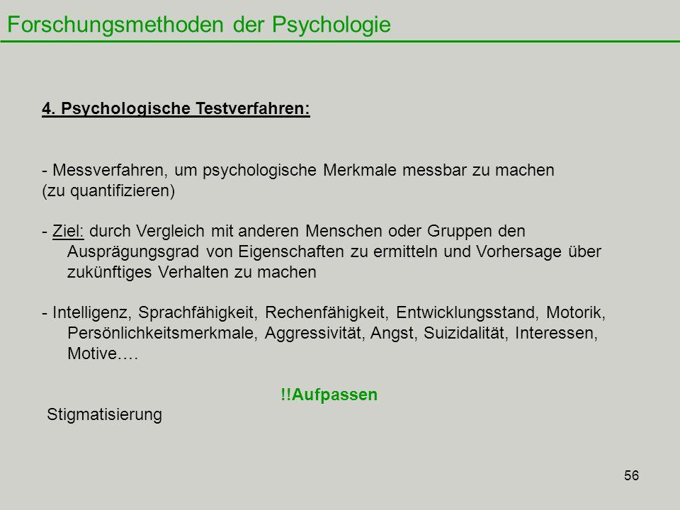 56 Forschungsmethoden der Psychologie 4.