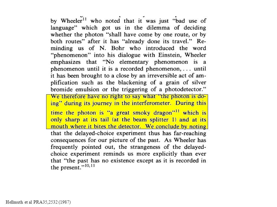 Hellmuth et al PRA35,2532 (1987)