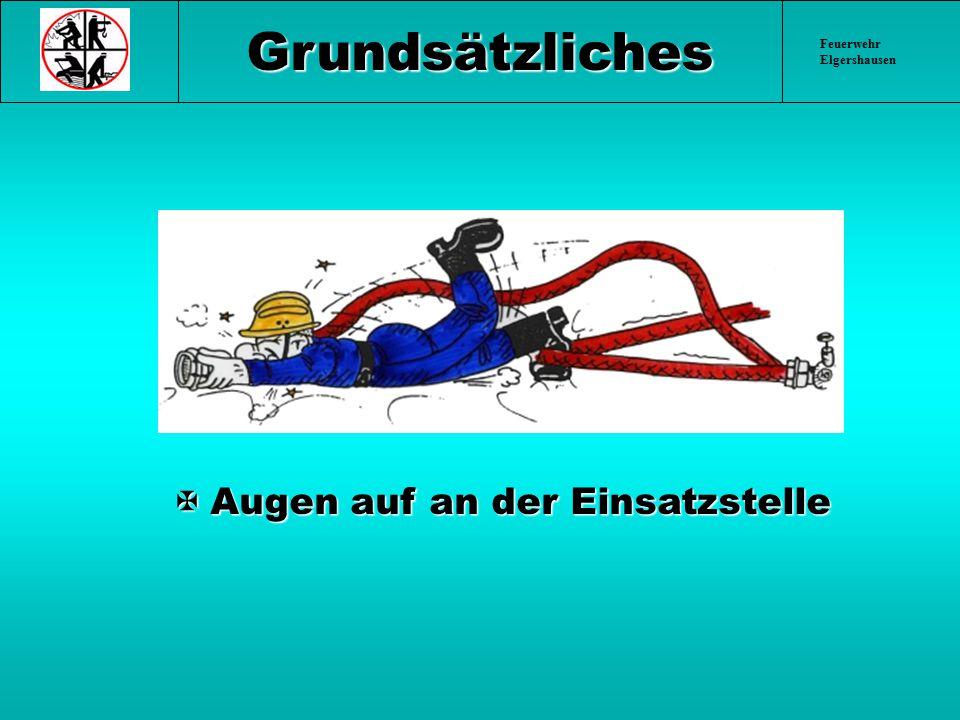 Feuerwehr Elgershausen Unfallbeispiele