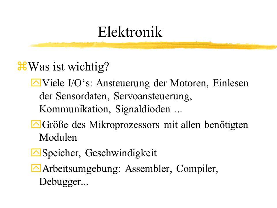 Elektronik zWas ist wichtig.
