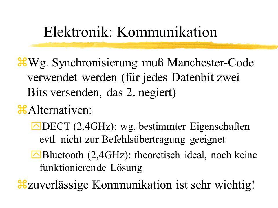 Elektronik: Kommunikation zWg.