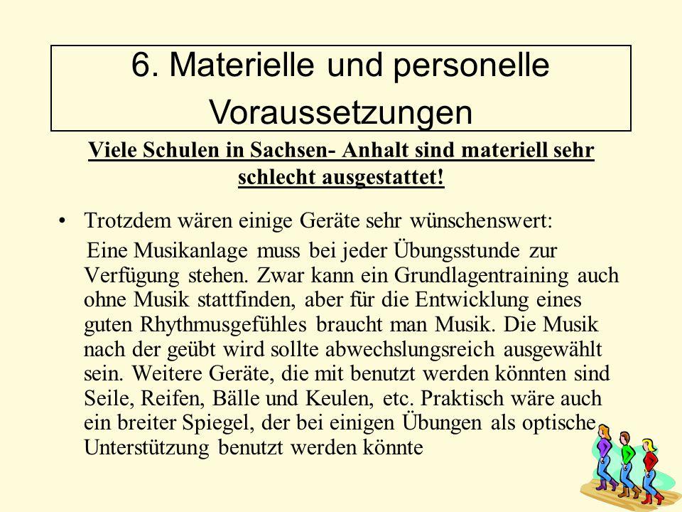 Viele Schulen in Sachsen- Anhalt sind materiell sehr schlecht ausgestattet! Trotzdem wären einige Geräte sehr wünschenswert: Eine Musikanlage muss bei