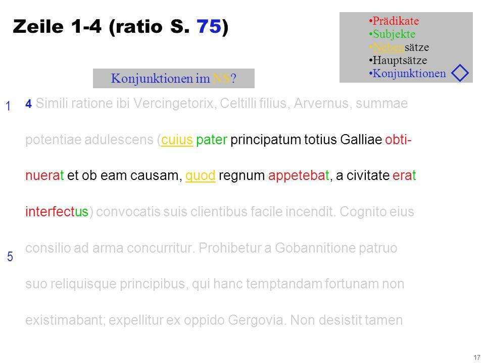 17 4 Simili ratione ibi Vercingetorix, Celtilli filius, Arvernus, summae potentiae adulescens (cuius pater principatum totius Galliae obti- nuerat et