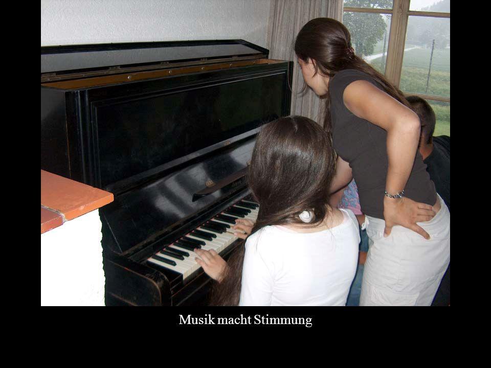 Musik macht Stimmung