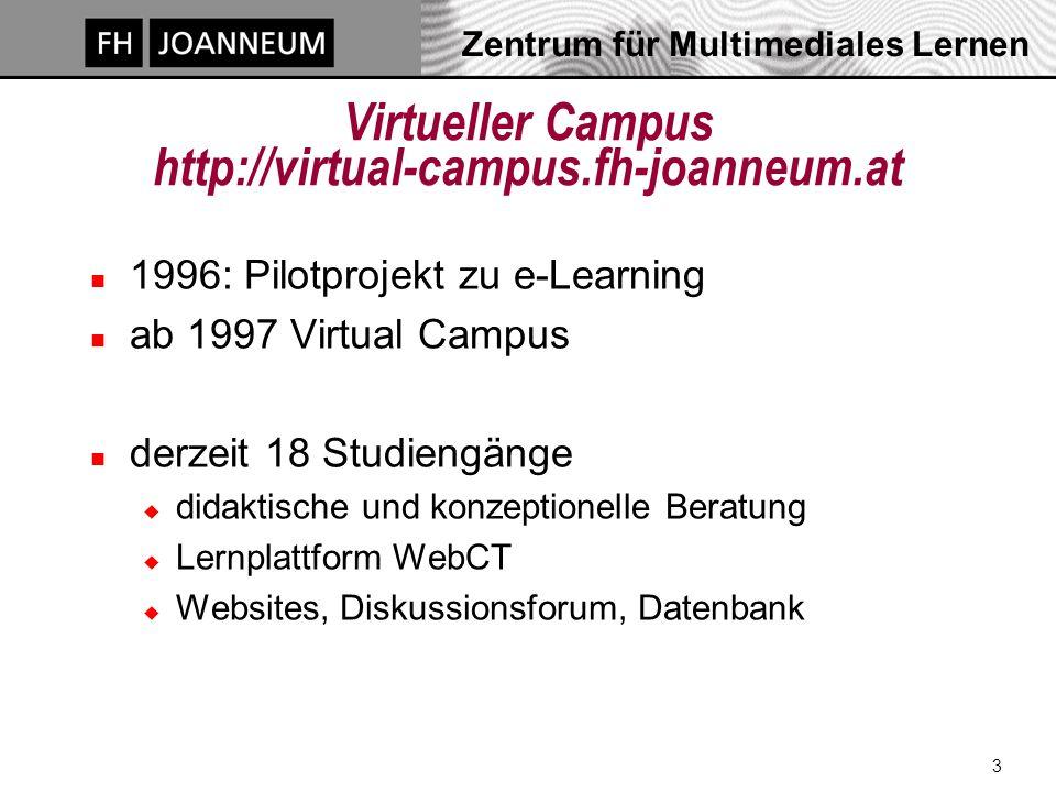 Zentrum für Multimediales Lernen 14 Ergebnis einer Gruppe