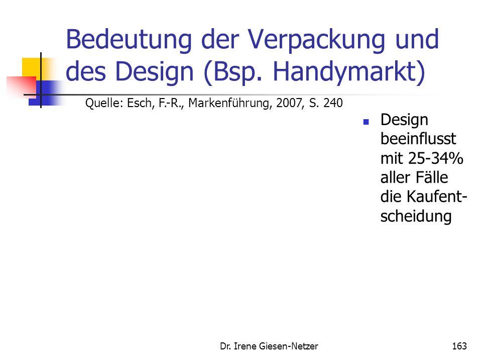 162 Markenzeichen Markenlogo Quelle: Esch, F.-R., Strategien und Technik der Markenführung
