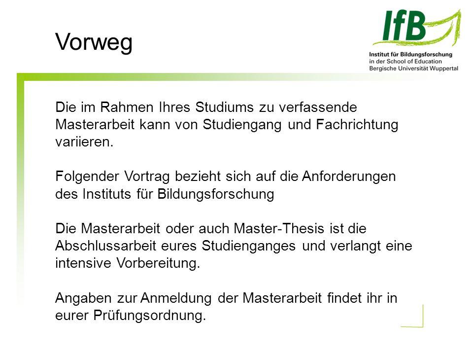 Vorweg Links zu den Prüfungsordnungen: Master of Education-07: http://www.isl.uni-wuppertal.de/lehrerbildung 07/master_education07/ Master of Education-11: http://www.isl.uni-wuppertal.de/lehrerbildung 09/studium/
