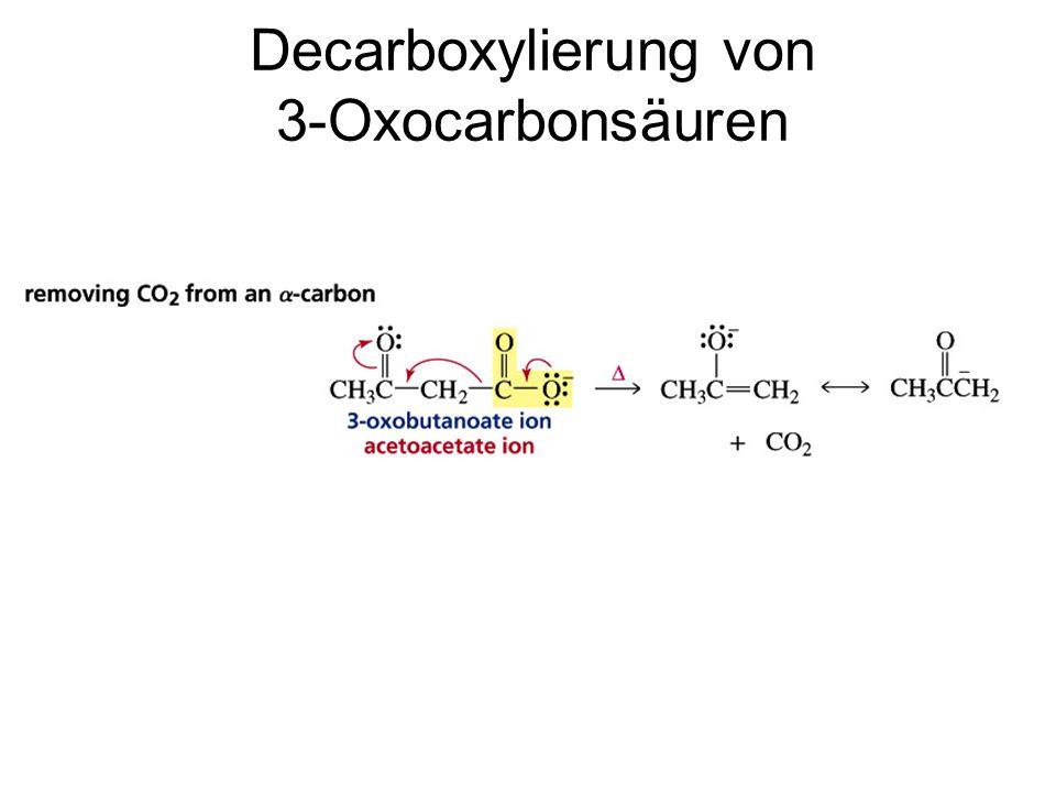 Decarboxylierung von 3-Oxocarbonsäuren