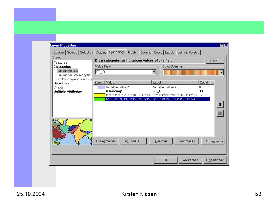 25.10.2004Kirsten Klasen58