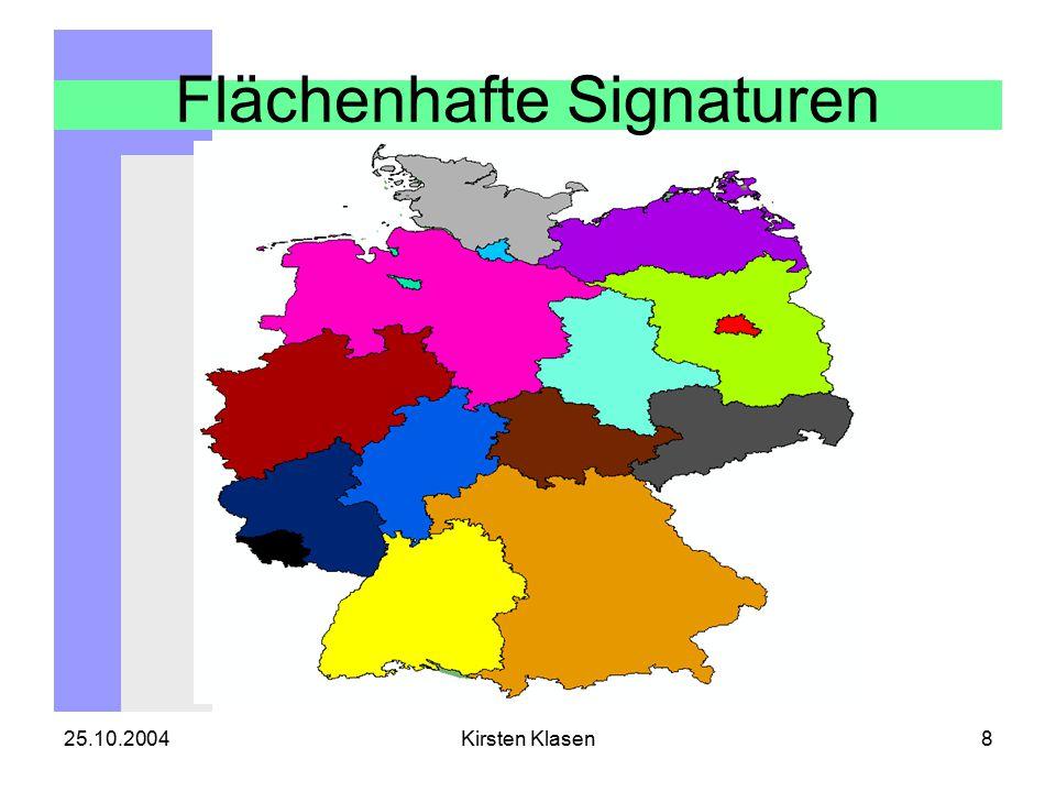 25.10.2004Kirsten Klasen39 Signaturen bilden