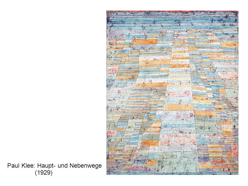 Paul Klee: Haupt- und Nebenwege (1929)