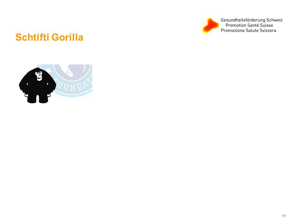 Schtifti Gorilla 11