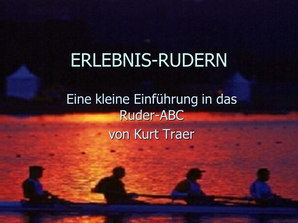 Traer Kurt 2002 REGATTEN n Streckenlänge (international): 2000 Meter n n 6 Boote pro Lauf n n Modus: Vorlauf- Hoffnungslauf- Halbfinale- Finale (A/B/C usw.) n Weltbestzeiten (Männer): von 6.35 min.
