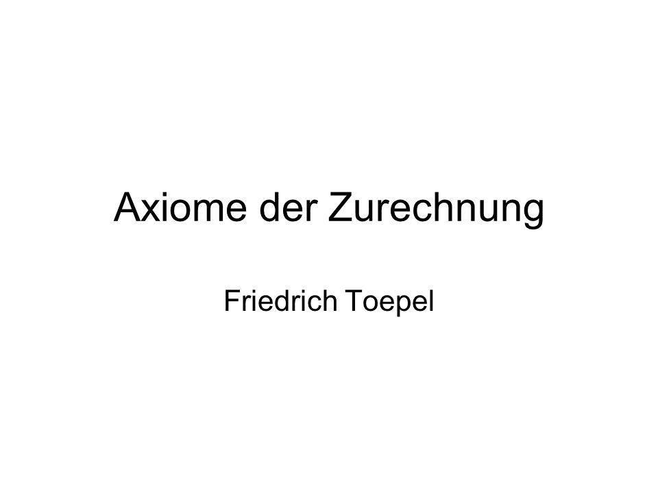 Überblick A.Feuerbachs Modell B. Willenstheorie C.