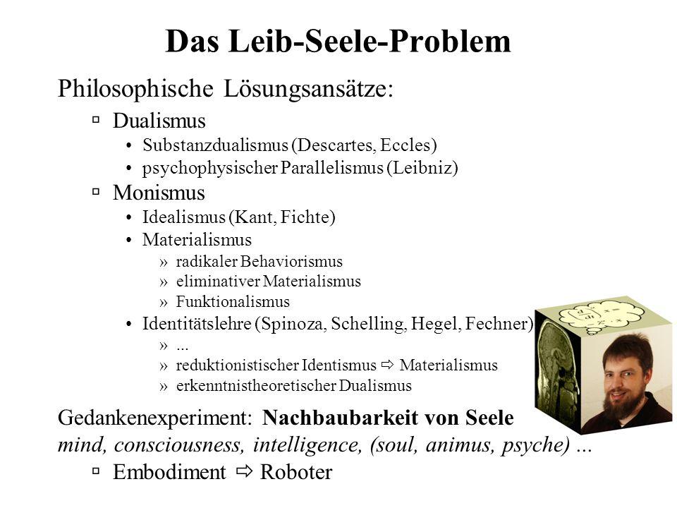   CK '99 Die Seele des Computers Christian Kaernbach Institut für Psychologie Christian-Albrechts-Universität zu Kiel Ihr redet doch nicht etwa übe