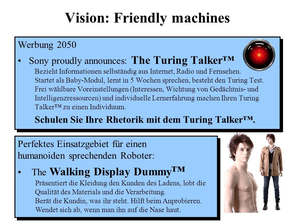 """Beseelte Maschinen in der Fiktion Gespräch auf dem Workshop """"Bewußtsein: Forschungsansätze im interdisziplinären Dialog"""" Magdeburg, 13.-14. 9. 2002, a"""