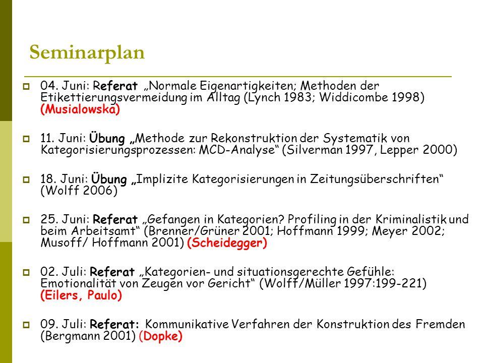Seminarplan  04.