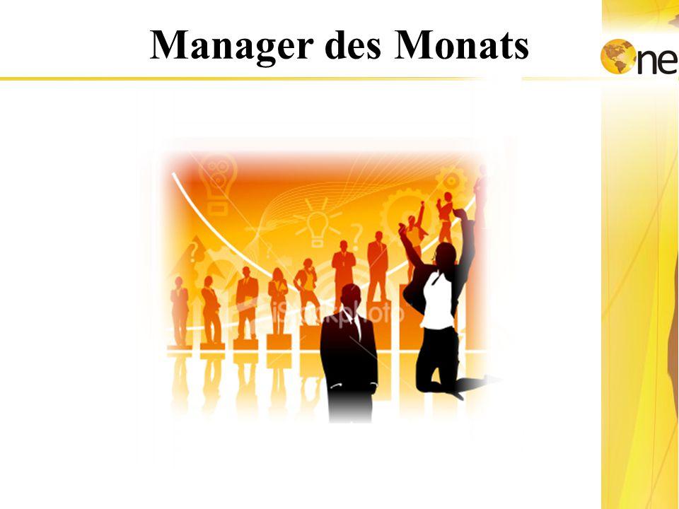 Die Bezahlung Manager des Monats