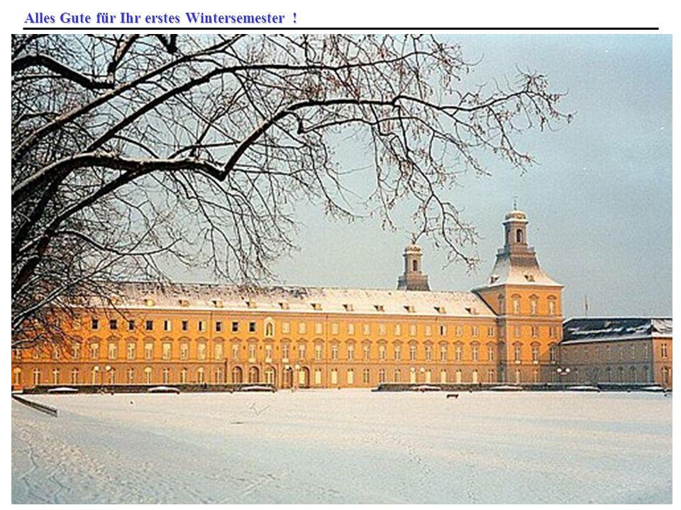 © 2009 Prof. Dr. Rainer Manthey Bachelorbegrüßung 12.10.2009 58 Alles Gute für Ihr erstes Wintersemester !