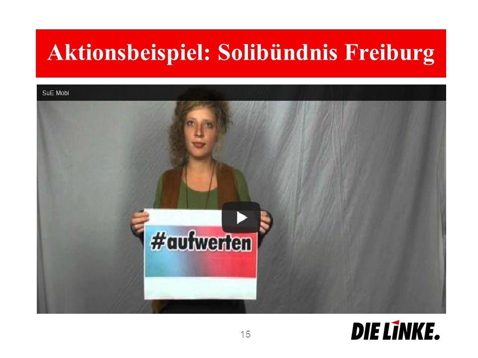 Aktionsbeispiel: Solibündnis Freiburg 15