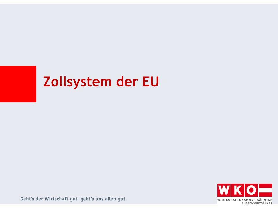 Zollsystem der EU