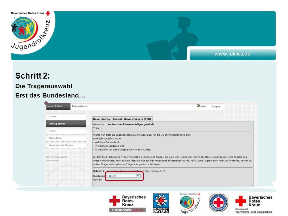 www.juleica.de Dann der Landkreis bzw. die kreisfreie Stadt in der du für das BJRK tätig bist…