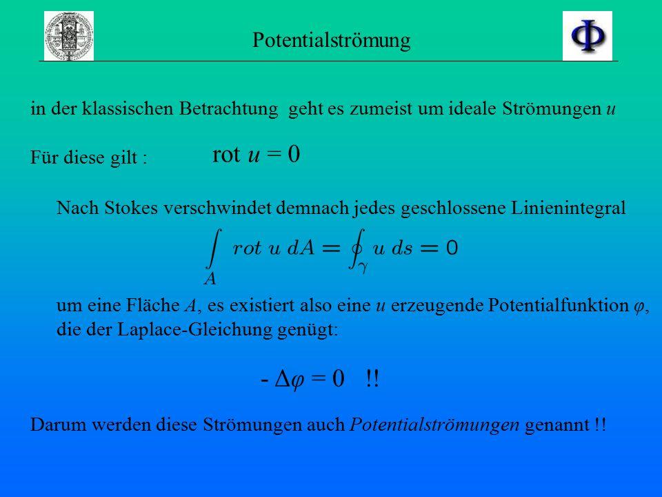 Wirbelstärke Die wichtige Größe der Wirbelstärke Ω definiert man direkt aus vorheriger Gleichung: daraus erhält man Wirbelstärke und im Wirbel herrsch