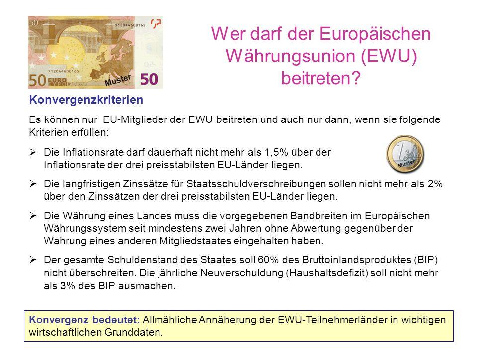 """Wo der Euro daheim ist Der Euro ist mehr als """"nur neues Geld."""