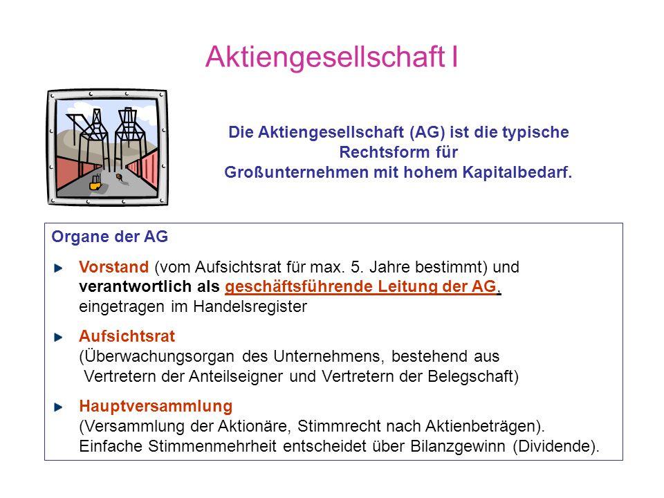 Angaben entnommen aus: Mayers Lexikonverlag: Wie funktioniert das? Wirtschaft heute, Mannheim 1999, S. 299 Quelle: Statistisches Bundesamt Anzahl der